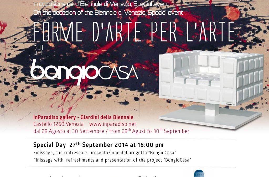 29 agosto – 30 settembre 2014 – Forme d'Arte per L'Arte