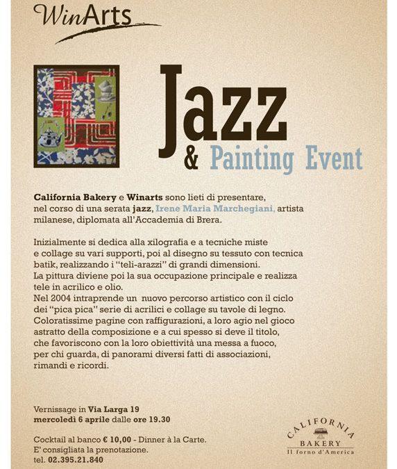 6 aprile 2011 – Jazz&Painting Event