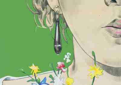 Frammento di Fanciulla Abruzzese di F.P.Michetti