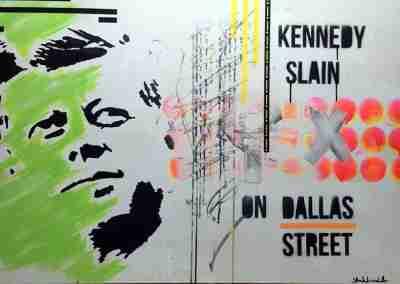 Kennedy Slain on Dallas Street