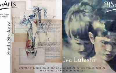 9 giugno 2016 Mostra di Emila Sirakova e Iva Lulashi