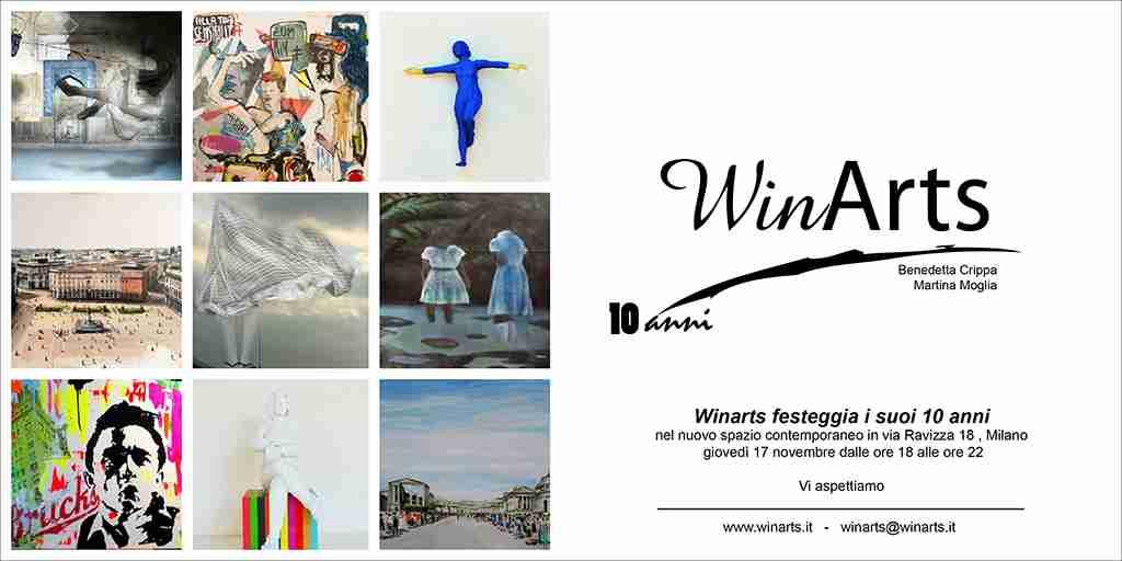 17 novembre 2016 Winarts 10 Anni