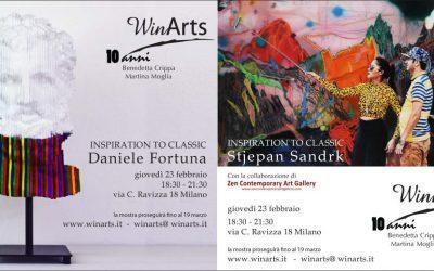 "23 febbraio 2017 ""Inspiration to classic"" di Daniele Fortuna e Stjepan Sandrk"
