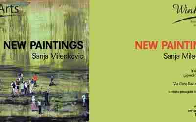 20 Settembre 2018 NEW PAINTINGS – Sanja Milenkovic