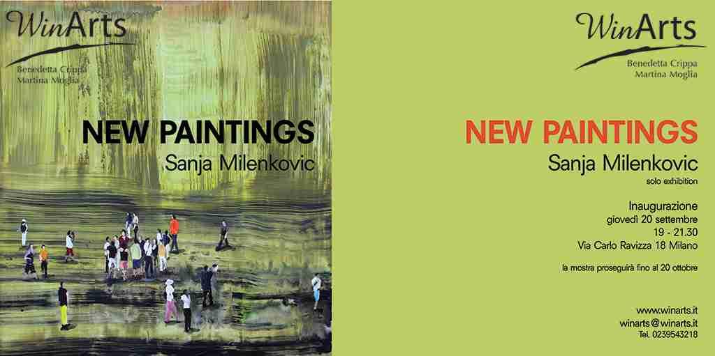 20 Settembre 2018 NEW PAINTINGS – Sanja Milenkovic