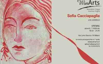 7 febbraio 2019 – Sofia Cacciapaglia SOLO EXHIBITION